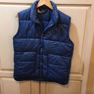 True vintage 60s 70s Columbia puffer vest jacket s